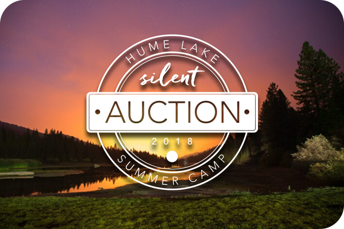 Hume Lake Silent Auction