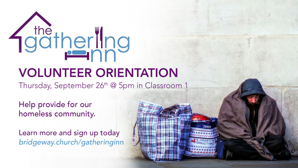 The Gathering Inn Volunteer Orientation