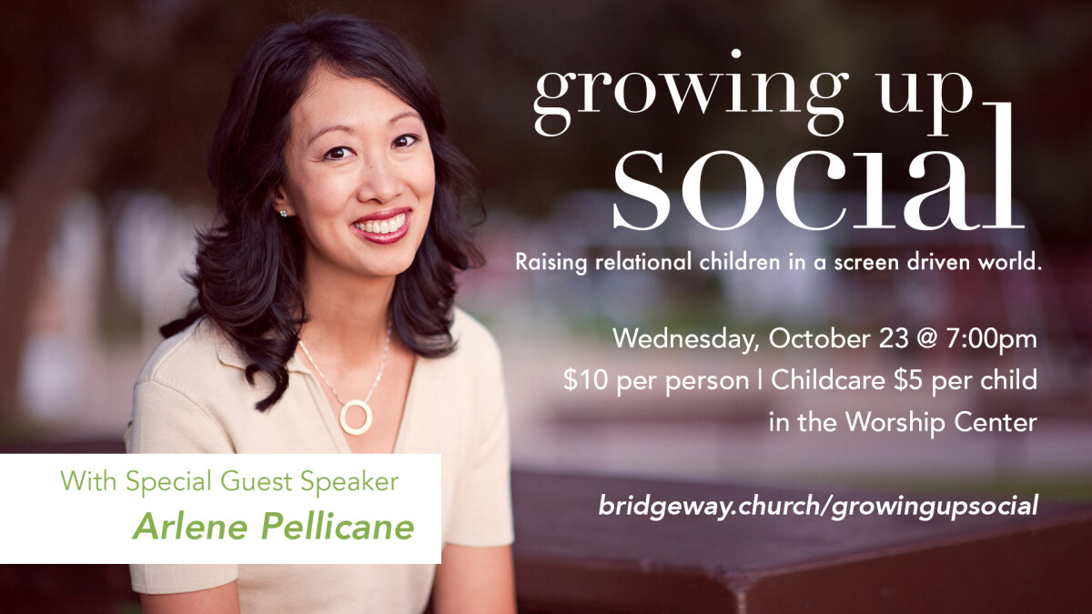 Growing Up Social with Author, Arlene Pellicane